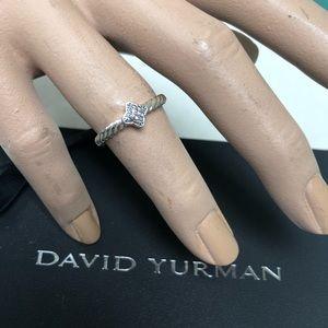🔴Authentic DAVID YURMAN Diamond Ring ♥️❤️